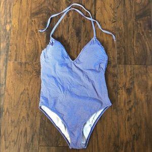 J Crew Gingham Swimsuit